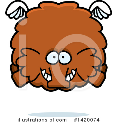 Mammoth Clipart #1420074 by Cory Thoman