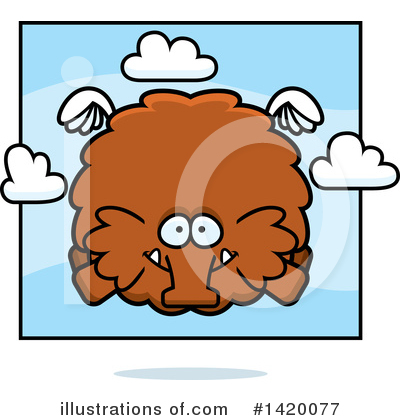 Mammoth Clipart #1420077 by Cory Thoman