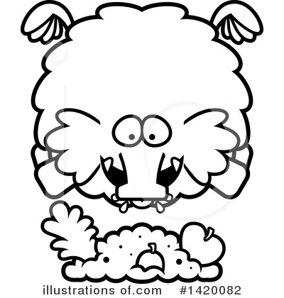 Mammoth Clipart #1420082 by Cory Thoman