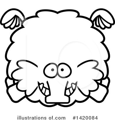 Mammoth Clipart #1420084 by Cory Thoman