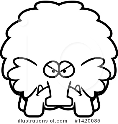 Mammoth Clipart #1420085 by Cory Thoman