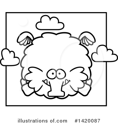Mammoth Clipart #1420087 by Cory Thoman