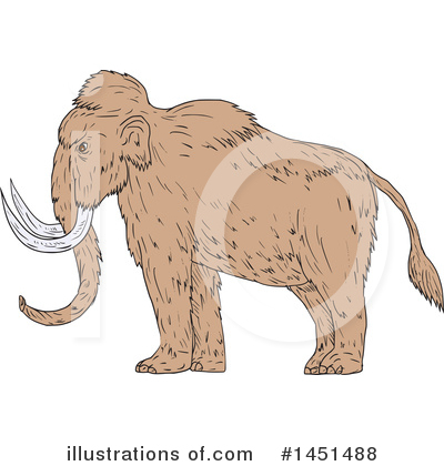 Elephant Clipart #1451488 by patrimonio