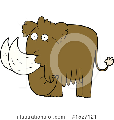 Woolly Mammoth Clipart #1527121 by lineartestpilot