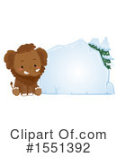 Royalty-Free (RF) Mammoth Clipart Illustration #1551392