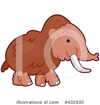 Mammoth Clipart #432935 by BNP Design Studio