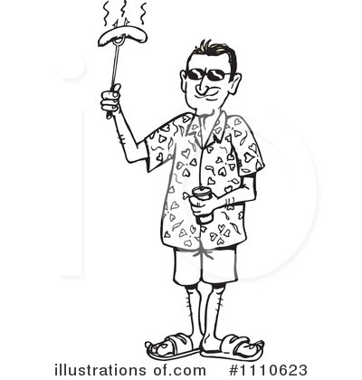 Royalty-Free (RF) Man Clipart Illustration by Dennis Holmes Designs - Stock Sample #1110623
