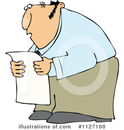 Newspaper Clipart #1127100 by djart