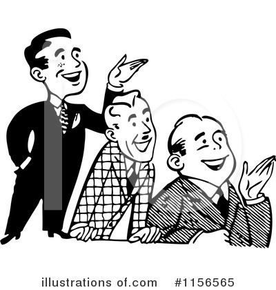 Business Team Clipart #1156565 by BestVector