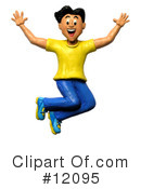 Royalty-Free (RF) man Clipart Illustration #12095
