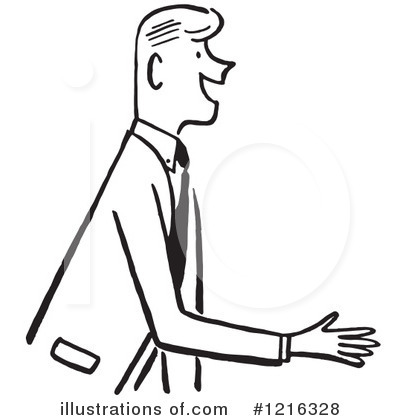 Businessman Clipart #1216328 by Picsburg