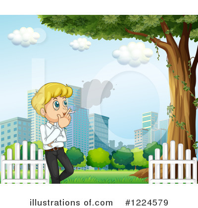 Smoking Clipart #1224579 by Graphics RF