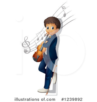 Violin Clipart #1239892 by Graphics RF