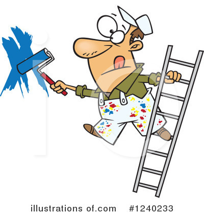 Ladder Clipart #1240233 by toonaday