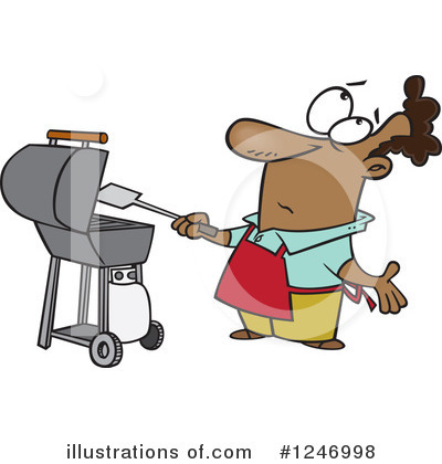 Bbq Clipart #1246998 by toonaday