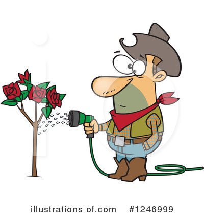 Gardening Clipart #1246999 by toonaday