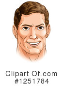 Man Clipart #1251784 by AtStockIllustration