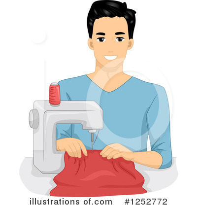 Sewing Machine Clipart #1252772 by BNP Design Studio