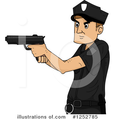 Police Clipart #1252785 by BNP Design Studio