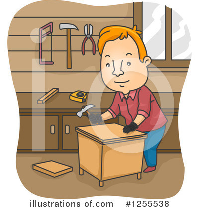 Royalty-Free (RF) Man Clipart Illustration by BNP Design Studio - Stock Sample #1255538