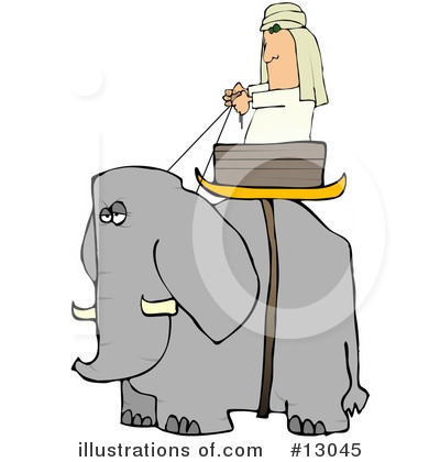 Elephant Clipart #13045 by djart