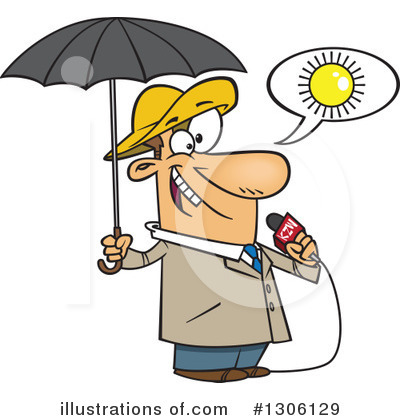 Umbrella Clipart #1306129 by toonaday