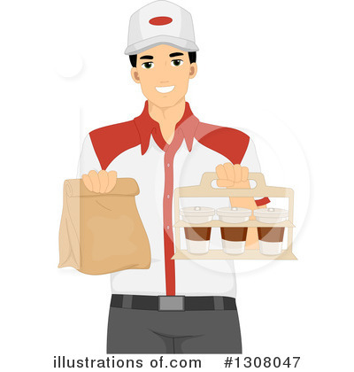 Food Delivery Clipart #1308047 by BNP Design Studio