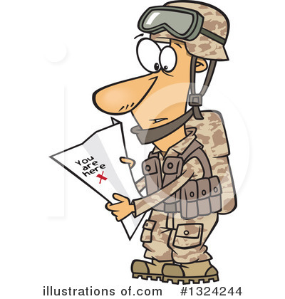 Soldier Clipart #1324244 by toonaday