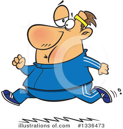 Jogging Clipart #1336473 by toonaday