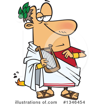 Roman Clipart #1346454 by toonaday