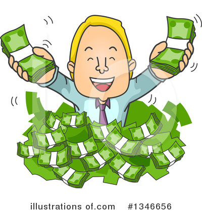 Business Man Clipart #1346656 by BNP Design Studio