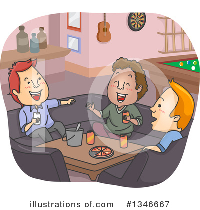 Man Clipart #1346667 by BNP Design Studio