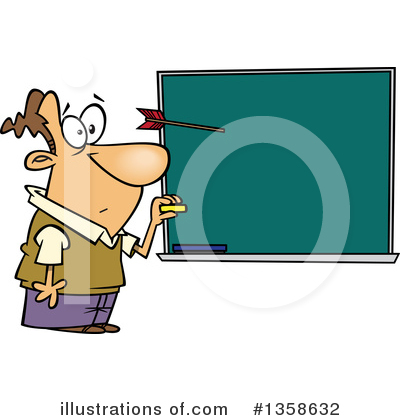 Chalkboard Clipart #1358632 by toonaday