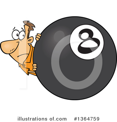 Eight Ball Clipart #1364759 by toonaday