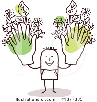 Gardening Clipart #1377385 by NL shop