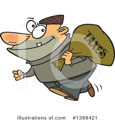 Robber Clipart #1388421 by toonaday