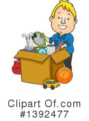 Royalty-Free (RF) Man Clipart Illustration #1392477