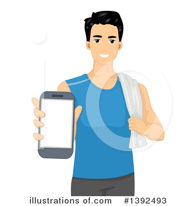 Smart Phone Clipart #1392493 by BNP Design Studio