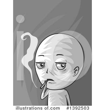 Smoking Clipart #1392503 by BNP Design Studio