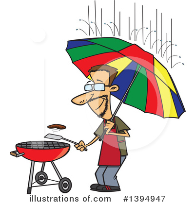 Umbrella Clipart #1394947 by toonaday