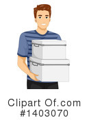 Royalty-Free (RF) Man Clipart Illustration #1403070