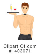 Man Clipart #1403071 by BNP Design Studio