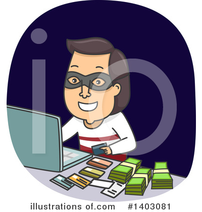 Fraud Clipart #1403081 by BNP Design Studio