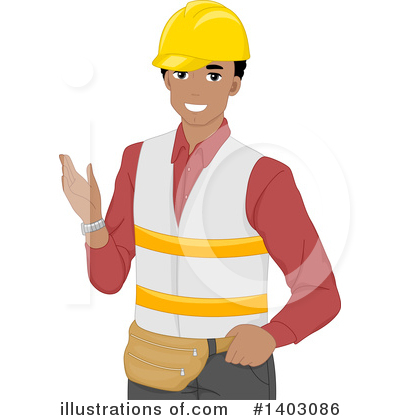 Worker Clipart #1403086 by BNP Design Studio