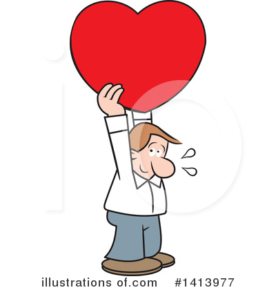 Love Clipart #1413977 by Johnny Sajem