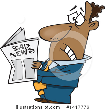 Newspaper Clipart #1417776 by toonaday