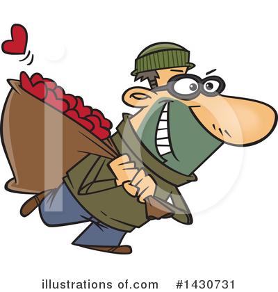 Thief Clipart #1430731 by toonaday