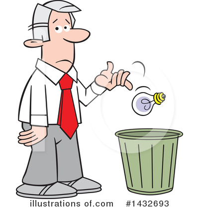 Garbage Clipart #1432693 by Johnny Sajem