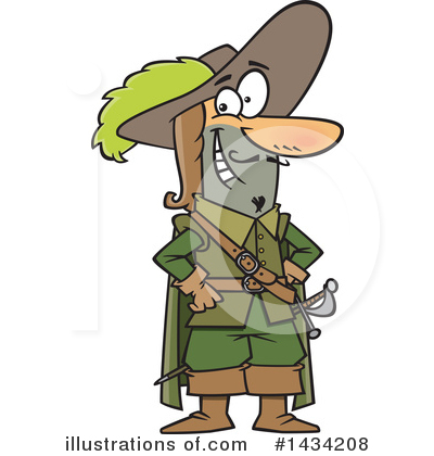 Musketeer Clipart #1434208 by toonaday