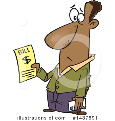 Finance Clipart #1437891 by toonaday